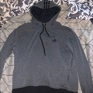 Dark Gray Adidas Hoodie